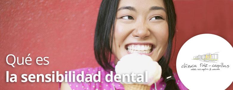 Qué es la sensibilidad dental