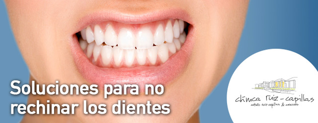 Soluciones para no rechinar los dientes